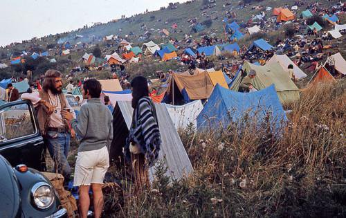 Campers-at-Woodstock