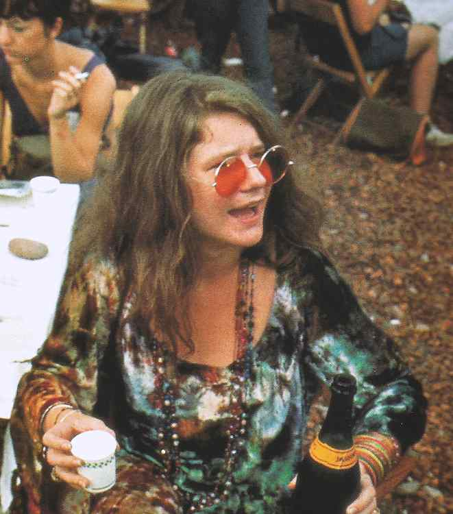 Janis-Joplin-in-Woodstock-15-18-August-1969