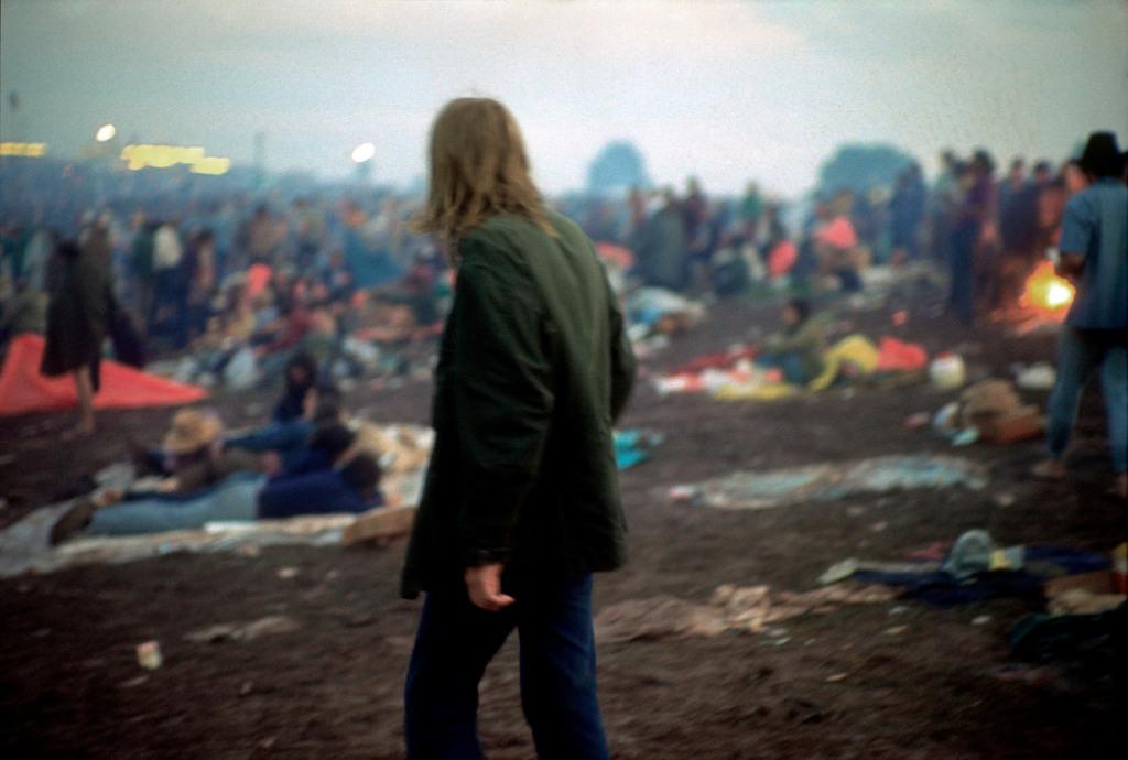 USA. Bethel, NY. 1969. Woodstock Festival.