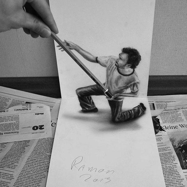 3d-pencil-drawings-ramon-bruin-2-3