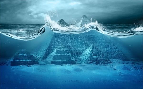Dijital-sanat-piramitleri-altında-su-su-dalgaları-kabarcıklar-deniz-giza-piramitleri-mavi-clouds4-boyutu-ev-dekorasyon